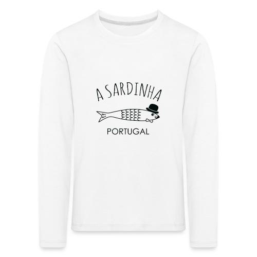 A Sardinha - Portugal - T-shirt manches longues Premium Enfant