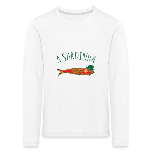 A Sardinha - Bandeira - T-shirt manches longues Premium Enfant