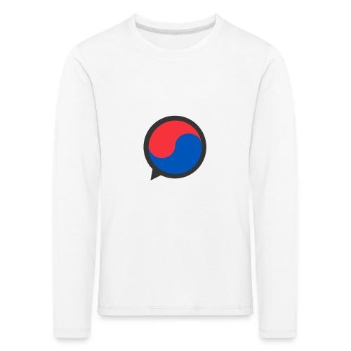 Black Icon - Kids' Premium Longsleeve Shirt