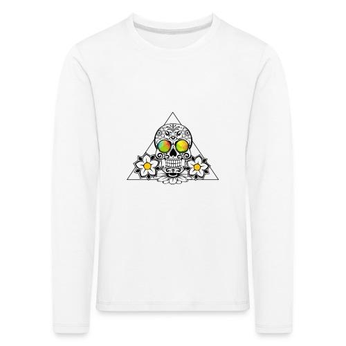 The day of the dead - Lasten premium pitkähihainen t-paita
