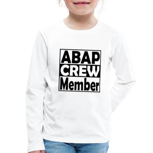ABAPcrew - Kinder Premium Langarmshirt