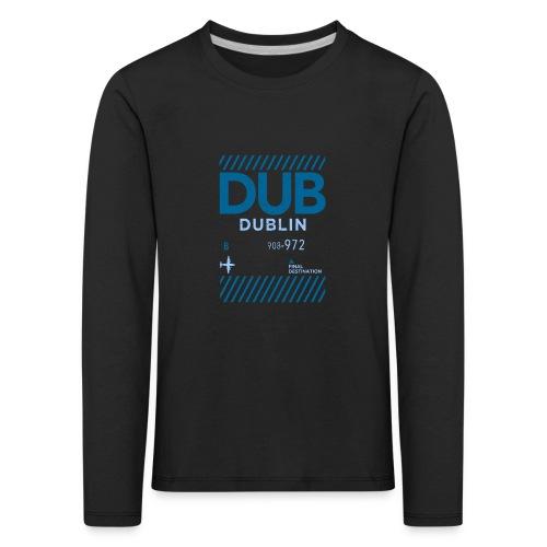 Dublin Ireland Travel - Kids' Premium Longsleeve Shirt