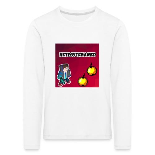 Logo kleding - Kinderen Premium shirt met lange mouwen