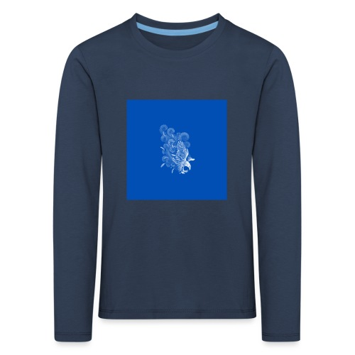 Windy Wings Blue - Kids' Premium Longsleeve Shirt