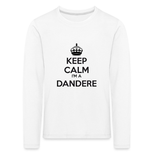 Dandere keep calm - Kids' Premium Longsleeve Shirt