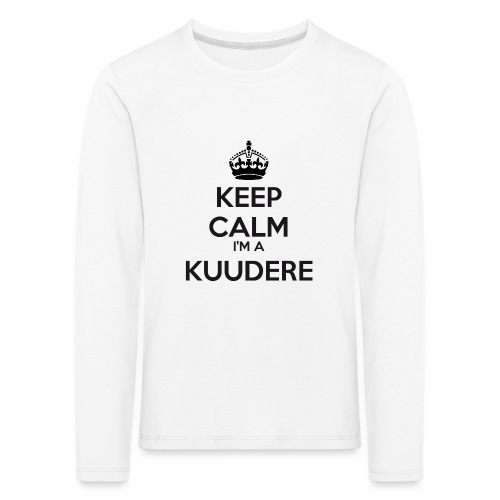 Kuudere keep calm - Kids' Premium Longsleeve Shirt
