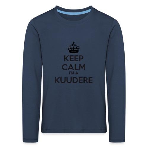 Kuudere keep calm - Kids' Premium Longsleeve Shirt