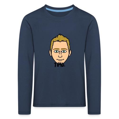 LOGO VAN TIMO. - Kinderen Premium shirt met lange mouwen