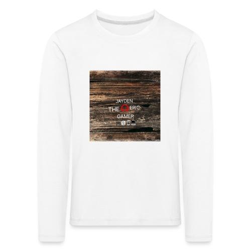 Jays cap - Kids' Premium Longsleeve Shirt