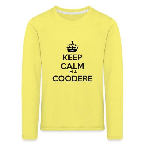 Coodere keep calm - Kids' Premium Longsleeve Shirt