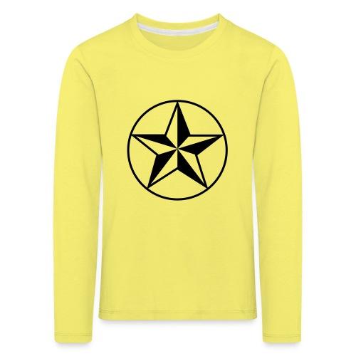 Star - Maglietta Premium a manica lunga per bambini
