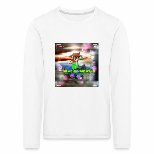 Il mio personaggio - Maglietta Premium a manica lunga per bambini