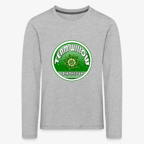 TEAM WILLOW - Kids' Premium Longsleeve Shirt