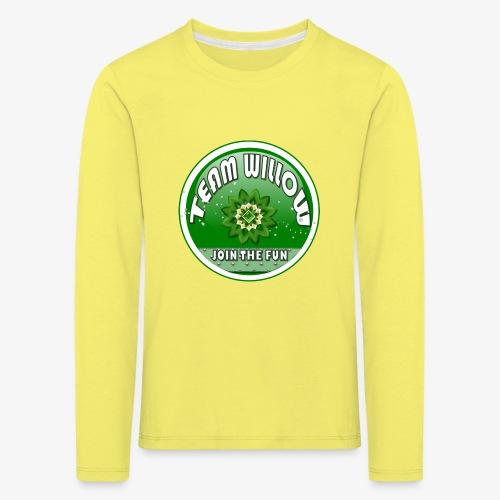 TEAM WILLOW - Kids' Premium Longsleeve Shirt
