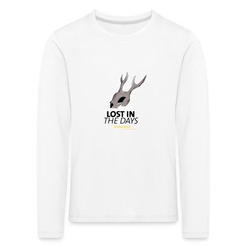 crane sky visu t shirt2 png - T-shirt manches longues Premium Enfant