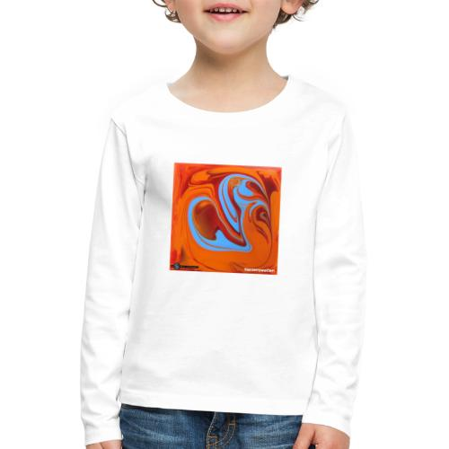 TIAN GREEN Mosaik DK005 - Herzenswelten - Kinder Premium Langarmshirt