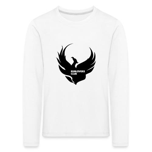 Runlovers Club v2 - Maglietta Premium a manica lunga per bambini