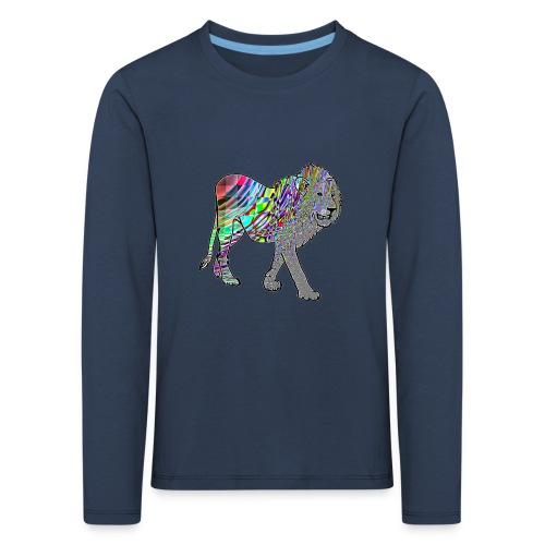 lion1 - T-shirt manches longues Premium Enfant