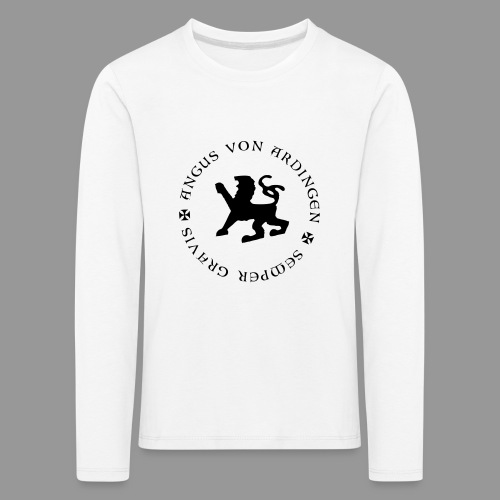 angus von ardingen semper gravis - Kinder Premium Langarmshirt