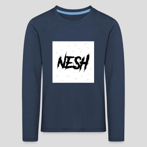 Nesh Logo - Kinder Premium Langarmshirt