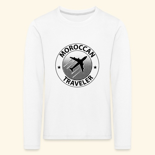 Moroccan Traveler - T-shirt manches longues Premium Enfant