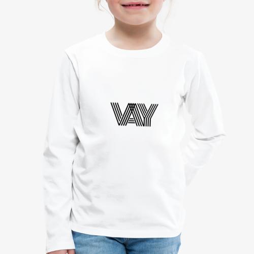 VAY - Kinder Premium Langarmshirt