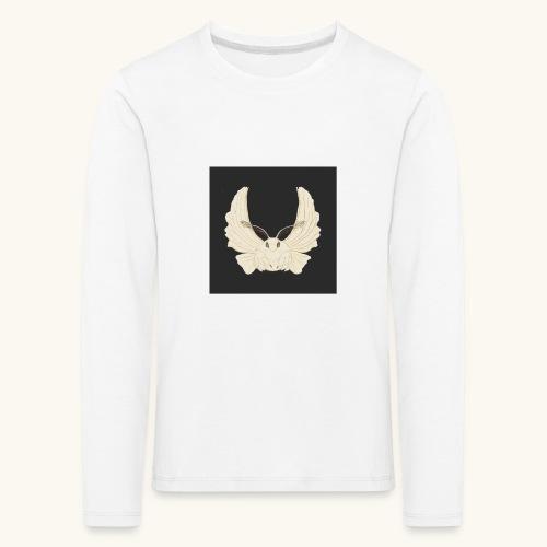Papillon de nuit fond noir - T-shirt manches longues Premium Enfant