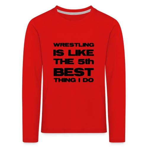 5thbest1 - Kids' Premium Longsleeve Shirt