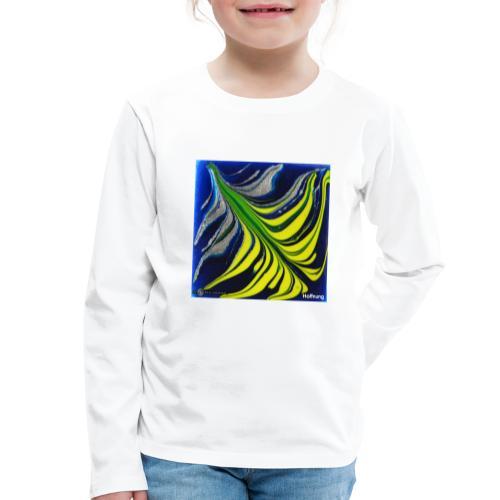 TIAN GREEN Mosaik DK037 - Hoffnung - Kinder Premium Langarmshirt