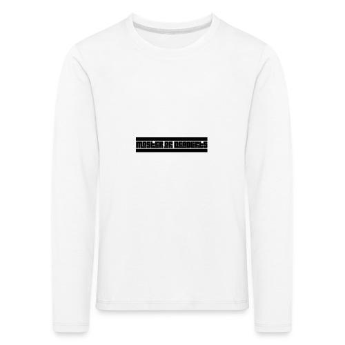 Master of Deadlifts, Geschenkidee für starke Kerle - Kinder Premium Langarmshirt