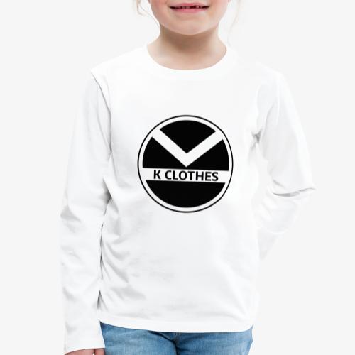  K·CLOTHES  ORIGINAL SERIES - Camiseta de manga larga premium niño