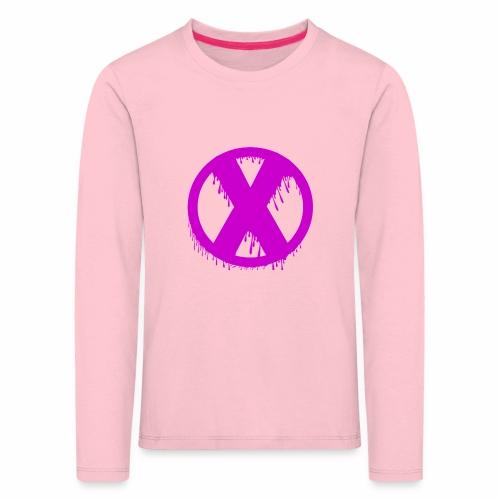 X - T-shirt manches longues Premium Enfant
