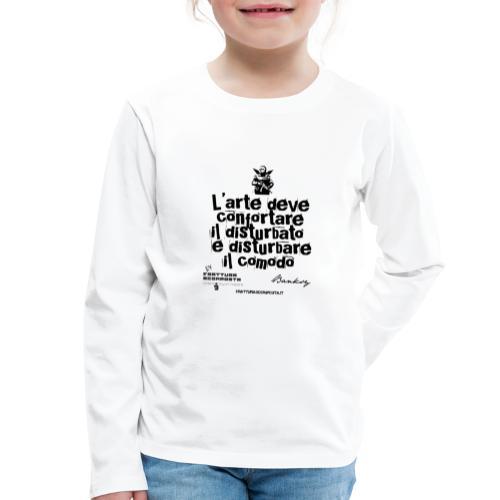 Aforisma Banksy - Maglietta Premium a manica lunga per bambini