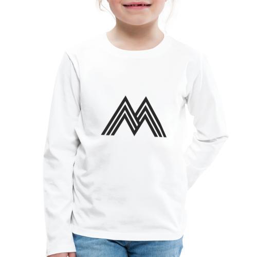 Merchandise With Deejay Michiel logo - Kinderen Premium shirt met lange mouwen