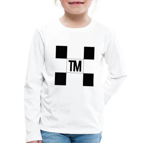 Checkered - Kids' Premium Longsleeve Shirt