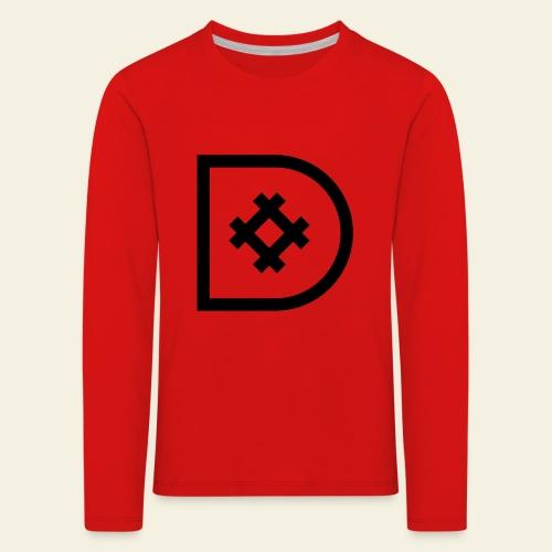 Icona de #ildazioètratto - Maglietta Premium a manica lunga per bambini