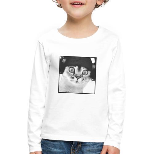 DJ CHAT - T-shirt manches longues Premium Enfant