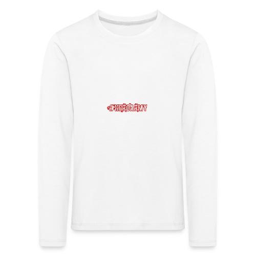 #Heroarmy - Kinder Premium Langarmshirt