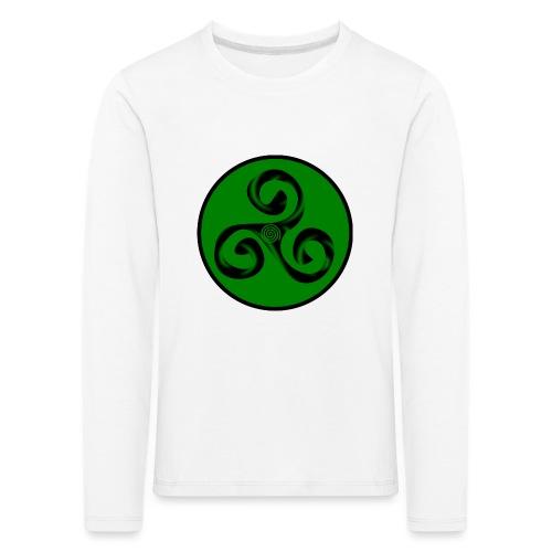 Triskel and Spiral - Camiseta de manga larga premium niño