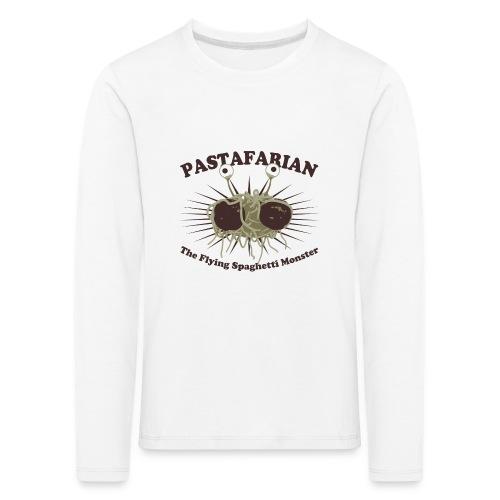 The Flying Spaghetti Monster - Kids' Premium Longsleeve Shirt