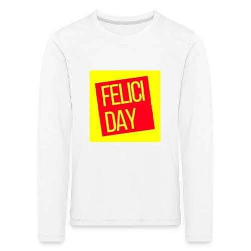 Feliciday - Camiseta de manga larga premium niño