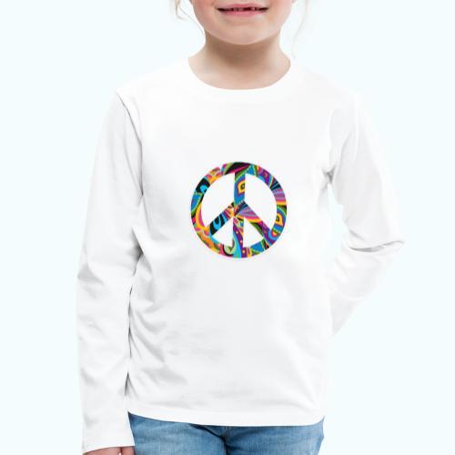 70s vintage hippie - Kids' Premium Longsleeve Shirt
