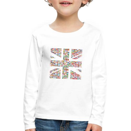 The Union Hack - Kids' Premium Longsleeve Shirt