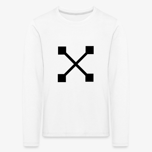 X BLK - Kinder Premium Langarmshirt
