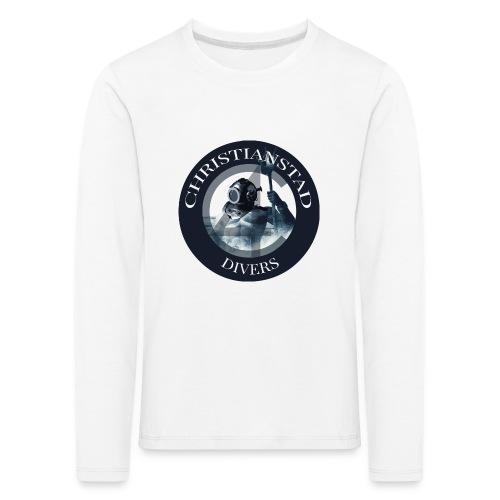 Logotype-2 - Långärmad premium-T-shirt barn