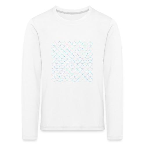 Mermaid scales - T-shirt manches longues Premium Enfant