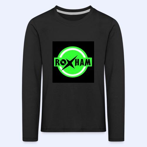 RoxHam-Button-2019 - Kinder Premium Langarmshirt
