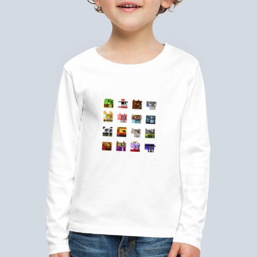 A Planet of Mine Animals - T-shirt manches longues Premium Enfant