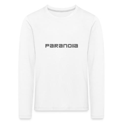 paranoia retro collection - Långärmad premium-T-shirt barn