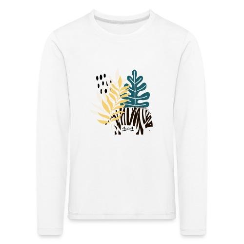 Zebra in savannah - Maglietta Premium a manica lunga per bambini